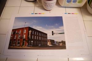 Main Street o Sinclair Lewis's home town - Sauk Centre, Minnesota