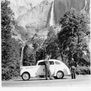 Wolfe's trip to the National parks. You can see what an immense man he was.