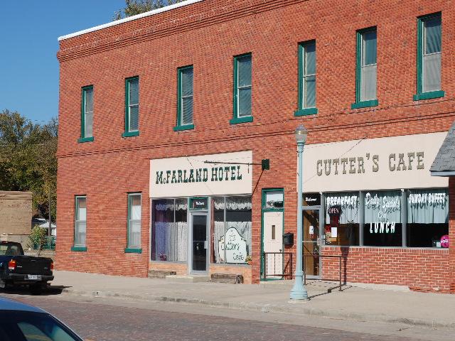Cutter's Cafe, a little cut off...