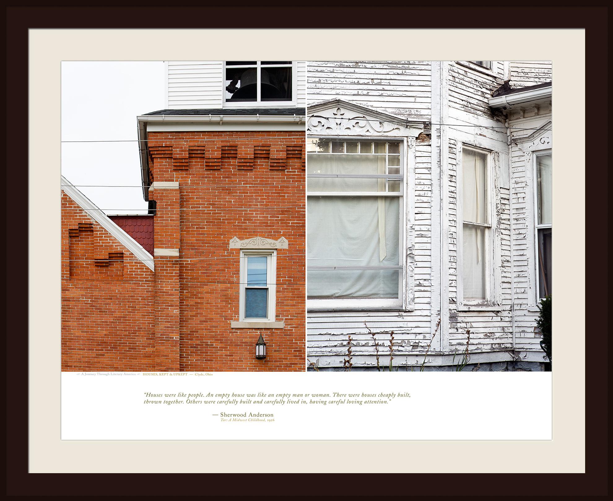 HOUSES, KEPT & UPKEPT — Clyde, Ohio