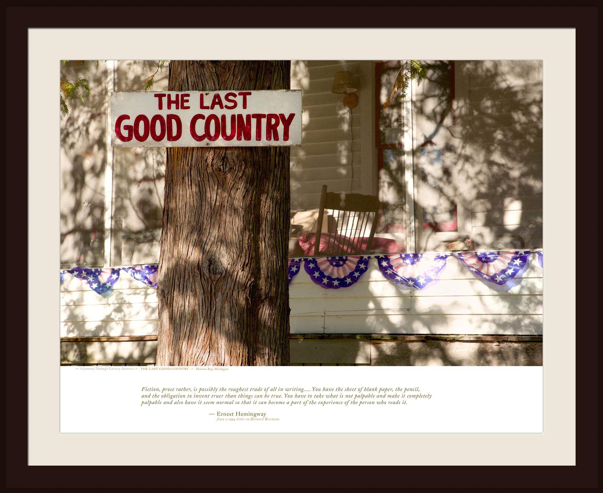 THE LAST GOOD COUNTRY — Horton Bay, Michigan