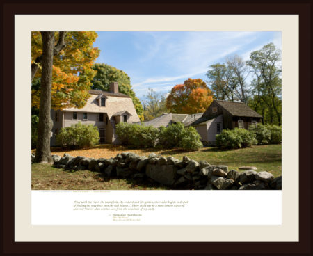 the OLD MANSE — Concord, Massachusetts