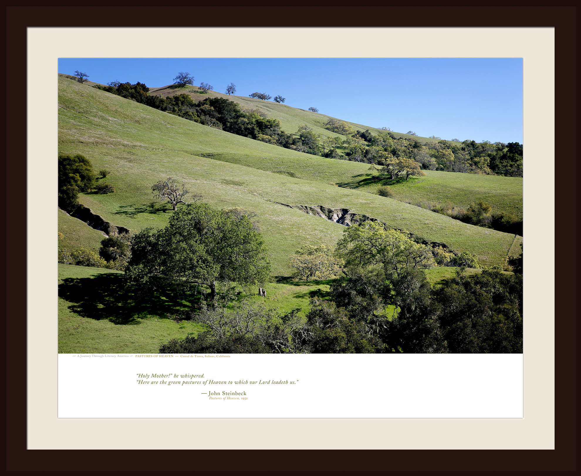 PASTURES OF HEAVEN — Corral de Tierra, Salinas, California