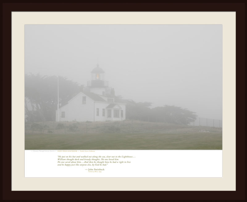 POINT PINOS LIGHTHOUSE — Pacific Grove, California