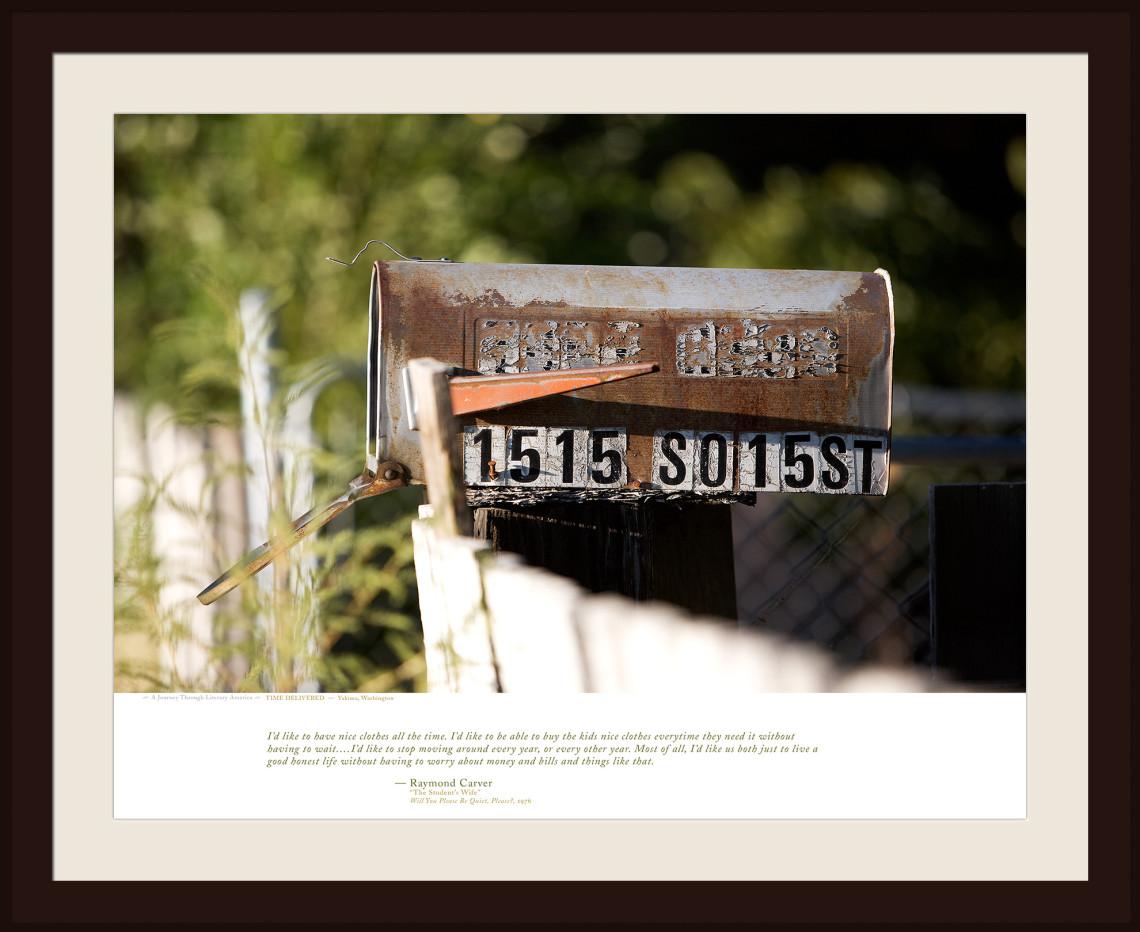 TIME DELIVERED — Yakima, Washington