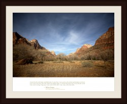 THE WESTERN AESTHETIC — Zion National Park, Utah