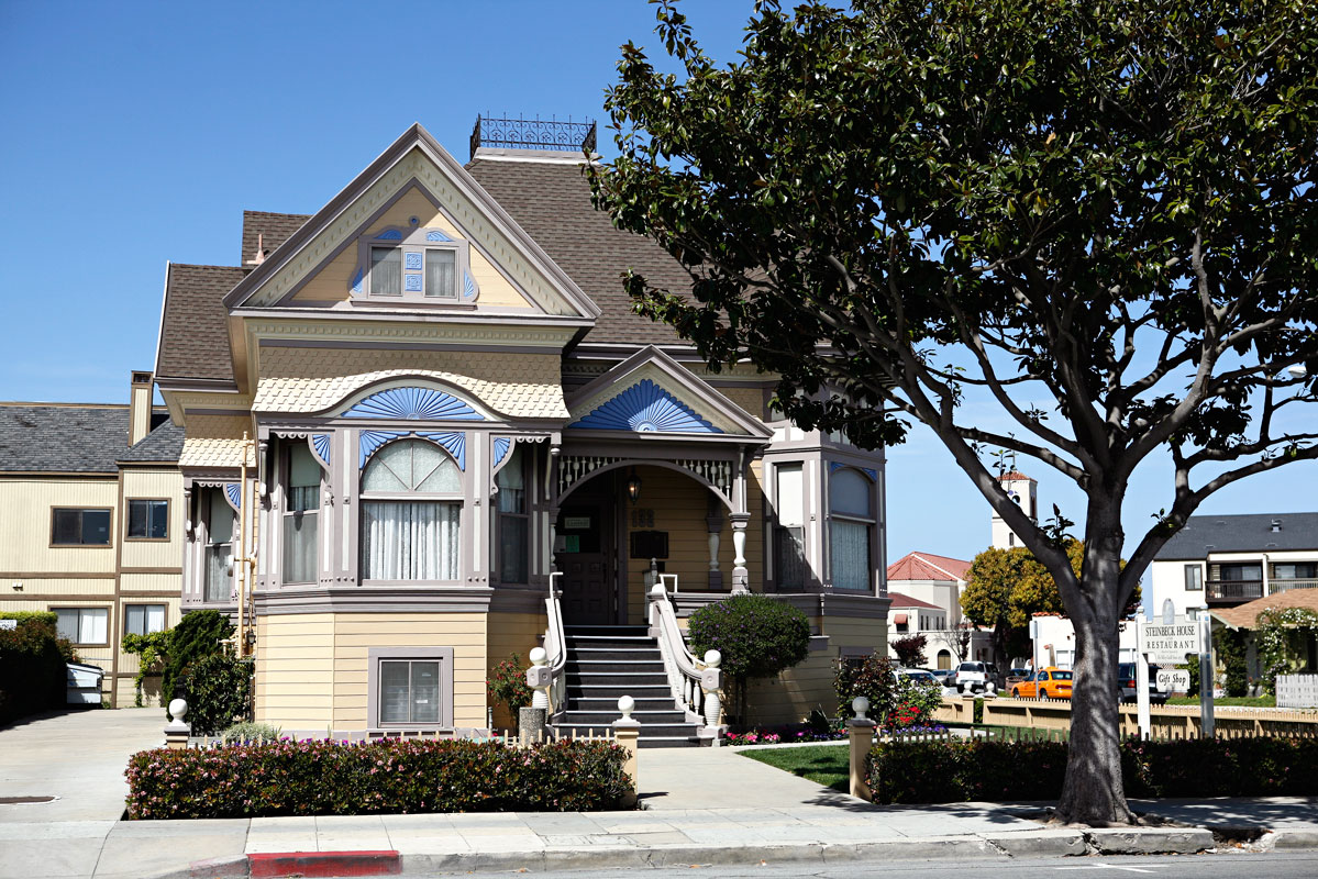 Photo of Steinbeck family house – Salinas, California