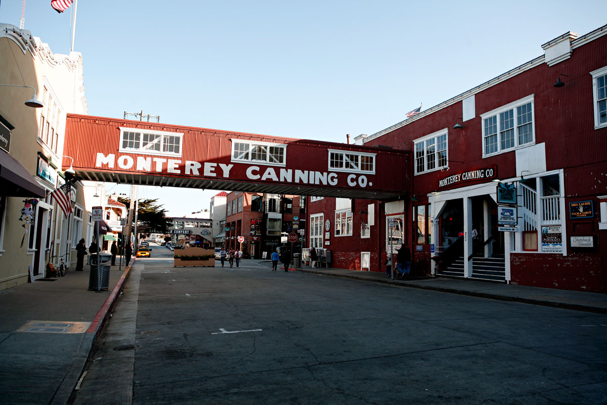Photo of Cannery Row — Monterey, California