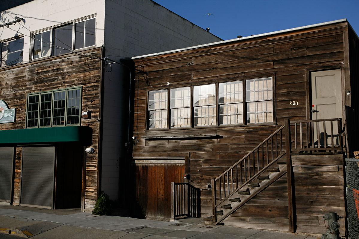 Photo of Ed Ricketts' lab — Monterey, California