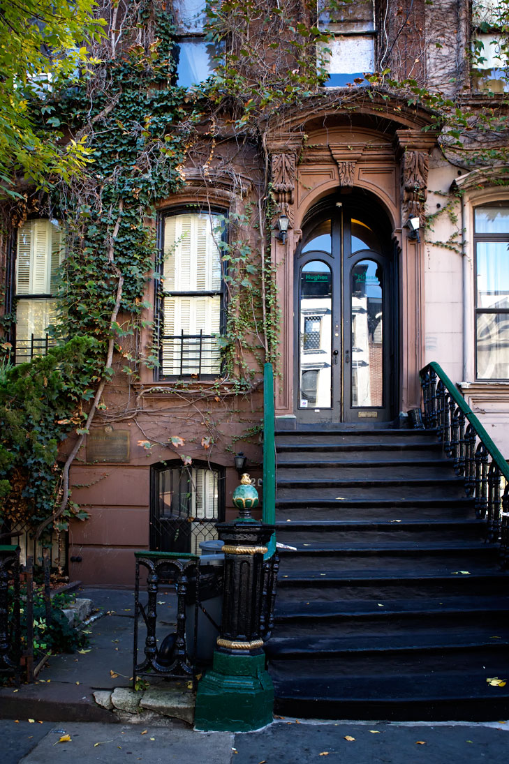 Photo of Langston Hughes House. — Harlem, New York
