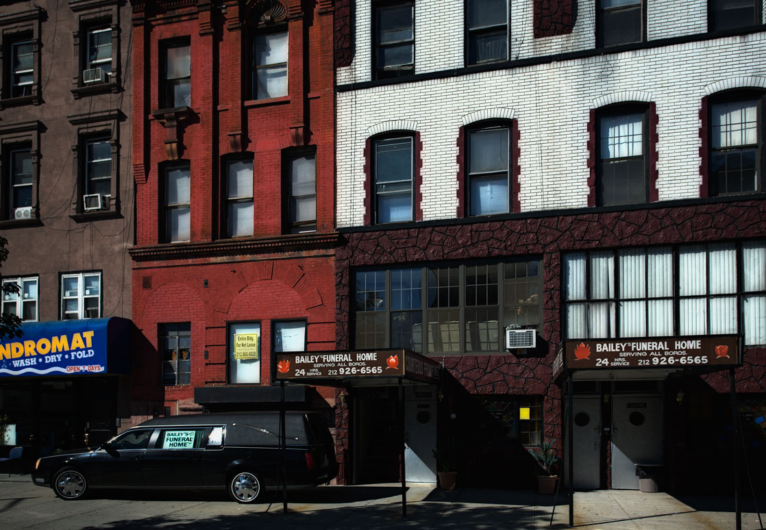 Photo of Bailey's Funeral Home — Harlem, New York