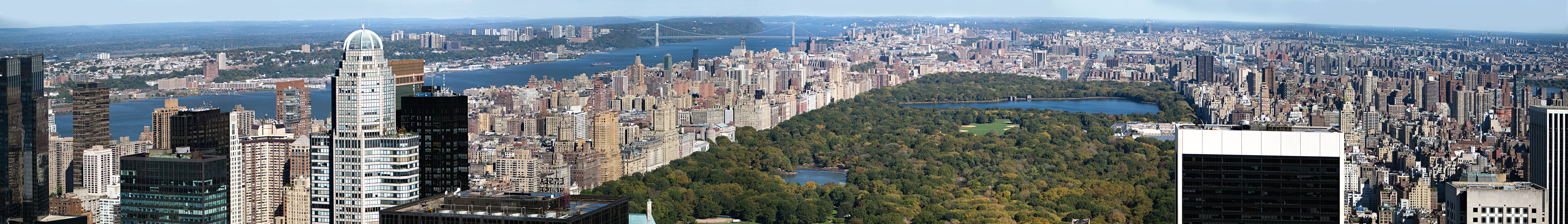 Photo of Looking across Central Park toward Harlem