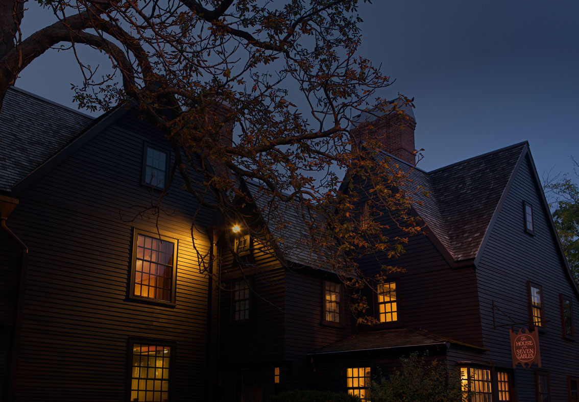 Photo of The House of the Seven Gables. — Salem, Massachusetts