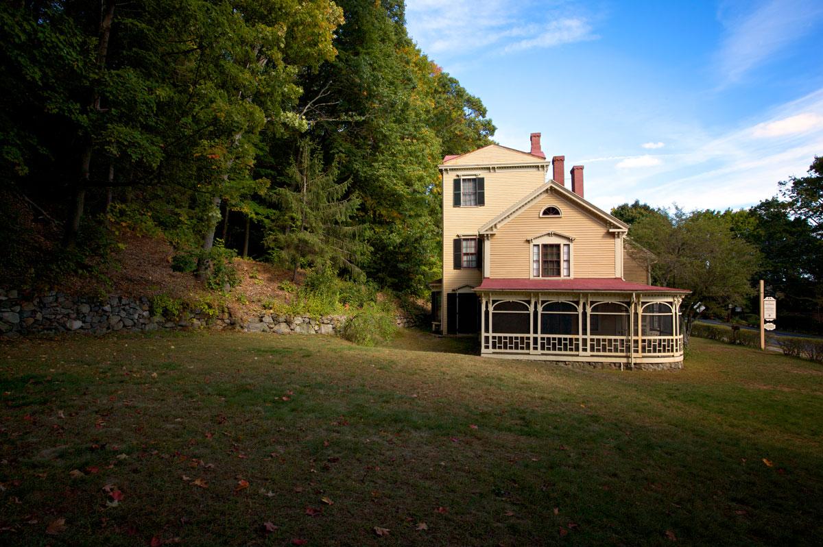 Photo of the Wayside. — Concord, Massachusetts
