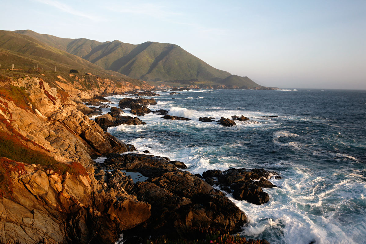 Photo of Pacific Coastline —Big Sur, California