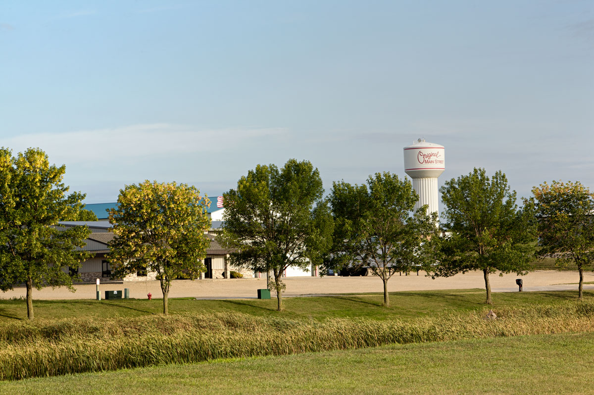 Photo of Main Street water tower — Sauke Centre, Minnesota