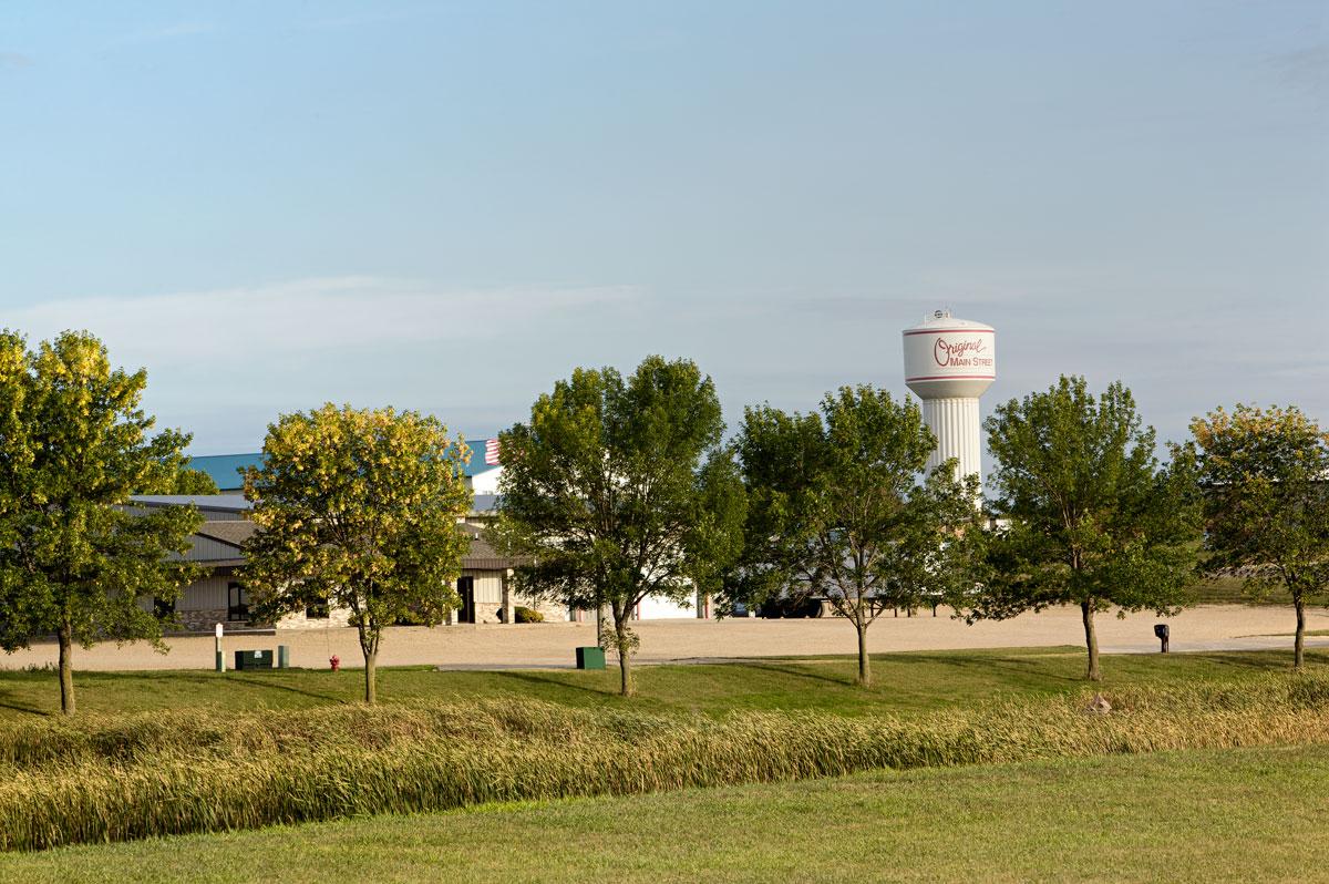 Photo of Main Street water tower — Sauke Centre, Minnesota